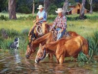 The Watering Hole ~ June Dudley