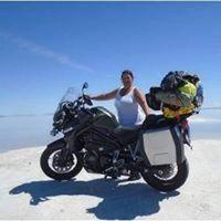 Salt Flats Utah - Triumph Tiger_August 2014.v1