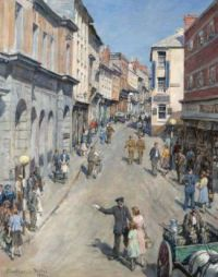 "Stanhope Alexander Forbes, ""Causeway, Penzance"", 1943"