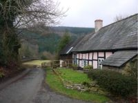 Thatched Cottage. Shropshire Hills Area.