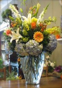 Happiness  is.....Stunning Tall Corporate Arrangement.