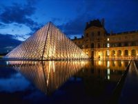 La pyramide du musée du Louvre, Paris