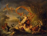 The Triumph of Galatea - Jean-Baptiste van Loo