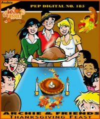 Archie & Friends Thanksgiving Feast PEP Digital #185 Cover
