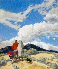 Walter Ufer (American, 1876–1936), The Rendezvous