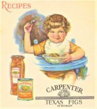 Themes Vintage ads - Carpenter Texas Figs