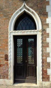 DOORWAY VENICE ITALY