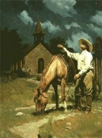 Cowboy's evening prayer