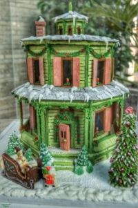 Hyde House in Gingerbread