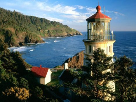 Lighthouse-Oregon Coast