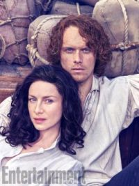 Jamie and Claire aged smolder EW