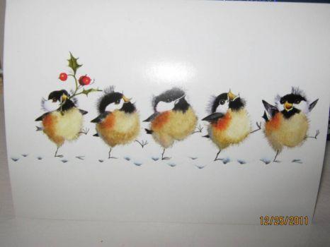 Dancing Chickadees