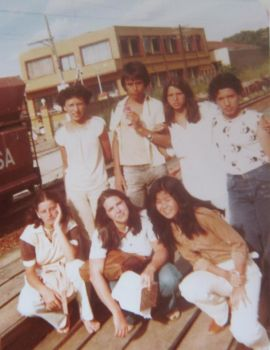 1980 - Friends for life (SENAI high school)