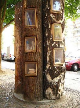 tree library, Berlin, Germany