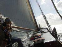 Schiff Zeester im Ijsselmeer