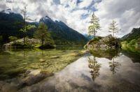Hintersee in Bavaria, Germany