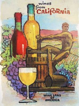 California Wine Ad