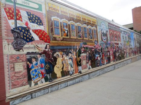 Mural in Burlington, VT