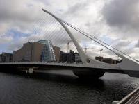 Dublin bridge S. Beckett