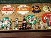 Soda Fountain Wall