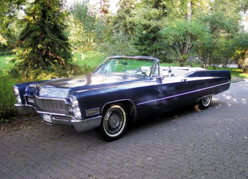 1968 Cadillac Coupe DeVille Convertible