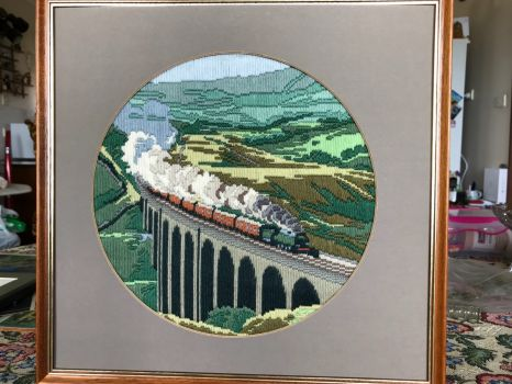 Glenfinnan Viaduct and The Flying Scotsman as seen in Harry Potter movies