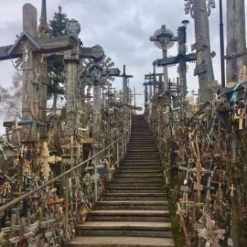 The Hill of Crosses, Lithuania