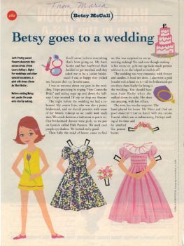 Betsy McCall Goes to a Wedding