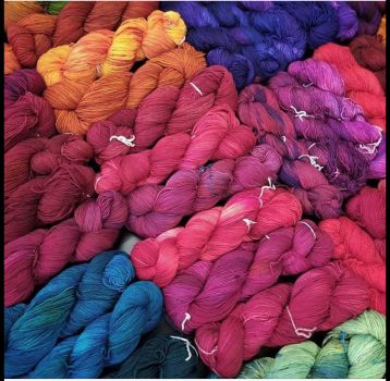 Dyed Yarns 2