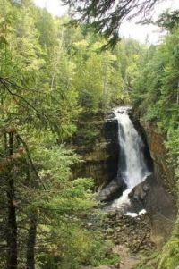Miner's Waterfalls - Pictured Rocks National Lakeshore