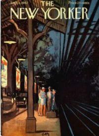 The New Yorker - September 1,1962 / cover art by Arthur Getz