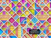 3d geometric pattern g1_1v-1 (medium)