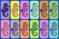 Fancy Seahorses!! ~ M