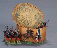 Miniature tin soldiers