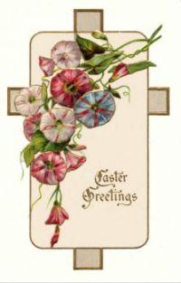 Old Eastrer Card