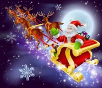 santa-flying-in-his-sled