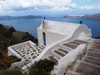 Small chapel on Santorini