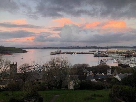 Late Afternoon Rays Over Falmouth Harbour