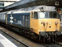 Class 50009 at Exeter - 16th Jul 1988