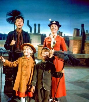 MARY POPPINS - JULIE ANDREWS, DICK VAN DYKE, KAREN DOTRICE & MATTHEW GARBER