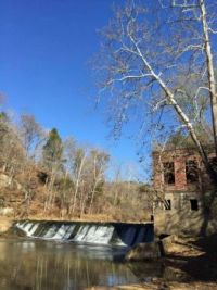 Howells Mill dam on Mud River