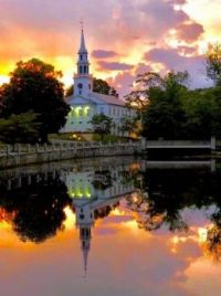 Milford Pond Reflections