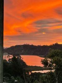 Kaipatiki Creek sunset