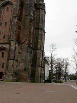 Oldehove _ the leaning tower of Leeuwarden.