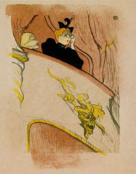 La Loge au Mascaron Doré, Henri de Toulouse-Lautrec, 1893