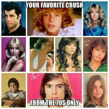 Remember 70's crushes