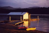 boathouse, Hope, Idaho