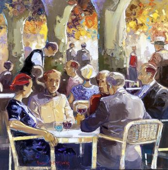 Andre Deymonaz Impressionist Artist
