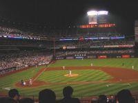 Citi Field at night
