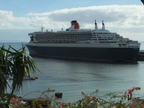 Queen Mary in Madeira